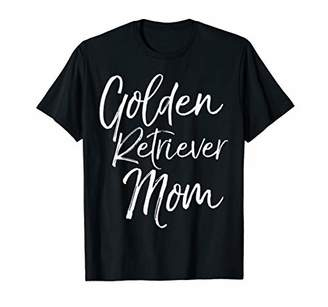 Golden Retriever Mom Shirt Fun Dog Mother Tee
