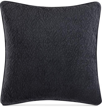 "Tracy Porter Closeout! Reversible Velvet Quilted 20"" Square Decorative Pillow Bedding"