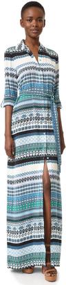 Diane von Furstenberg Amina Maxi Dress $598 thestylecure.com