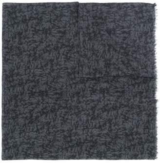 Pal Zileri printed fine knit scarf