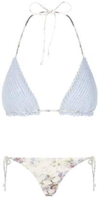 Zimmermann Iris Crochet Bikini