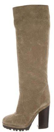 Michael Kors Suede Knee-High Boots