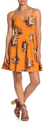 Love, Nickie Lew Sleeveless V-Neck Floral Dress