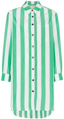 Mara Hoffman Bennet stripe print cotton shirt