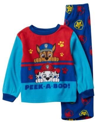 AME Paw Patrol Chase & Marshall Peek-A-Boo Fleece Pajama Set (Toddler Boys)