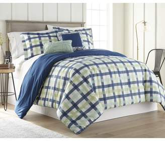 Hawthorne Park Gingham 5PC Comforter Set - Queen