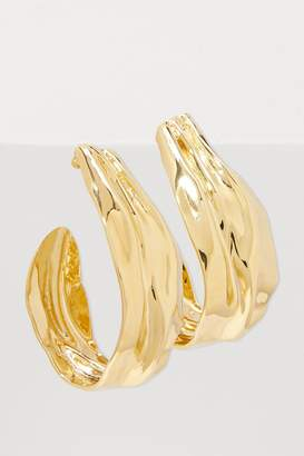 Annelise Michelson Draped clip hoops