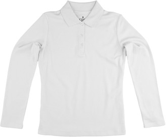 Chaps Girls 4-16 School Uniform Polo Shirt