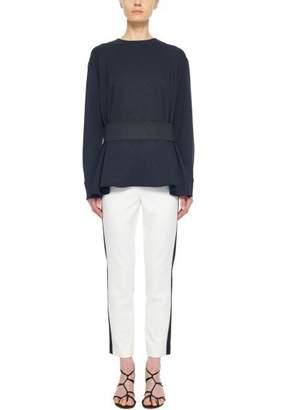 Tibi Anson Stretch Color Block Pant