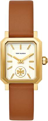 Tory Burch Robinson Leather Strap Watch, 27mm x 29mm