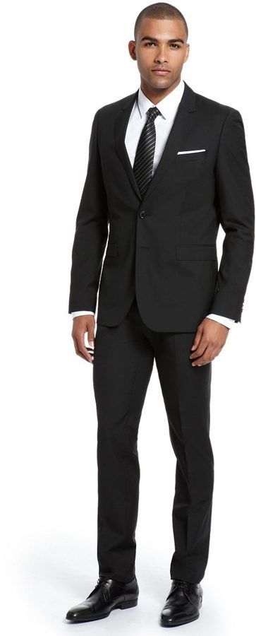 HUGO BOSS Extra Slim Fit 'Ryan/Win' Suit by BOSS Black