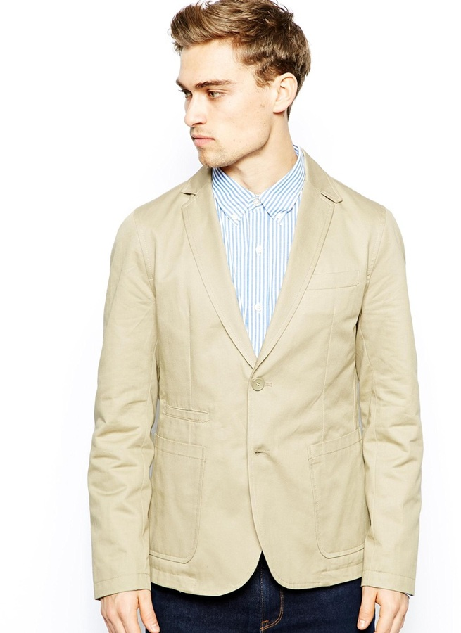 French Connection Jacket Cobalt Blazer