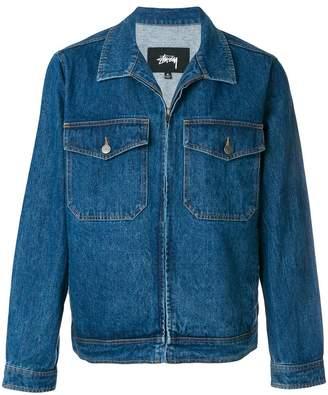 Stussy boxy denim jacket