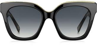 68e0c4606c Marc By Marc Jacobs Black Oversized Sunglasses - ShopStyle