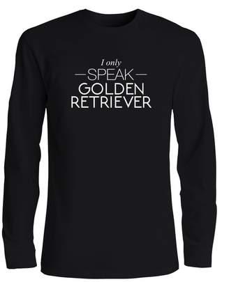 Golden Retriever Idakoos I only speak Dogs - Long Sleeve T-Shirt