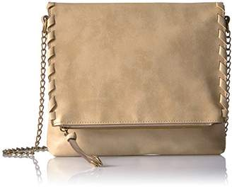 T-Shirt & Jeans Flap Cross Body with Chain Handle