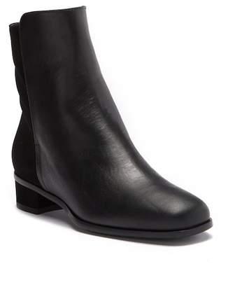 Aquatalia Lissa Contrast Leather Mid Boot