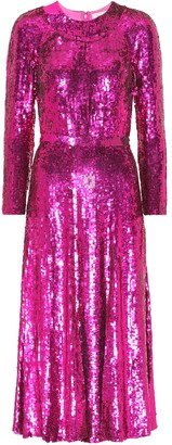 Temperley London Ray sequinned dress