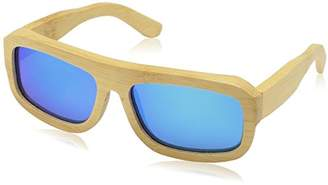 Earth Wood Unisex-Adult Daytona Wood Sunglasses ESG025E Polarized Wayfarer Sunglasses