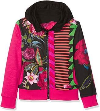 Desigual Girl's Sweat_bocaccio Sweatshirt,(Manufacturer Size: 9/10)