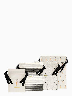 Kate Spade Getting Dressed Travel Bag Set