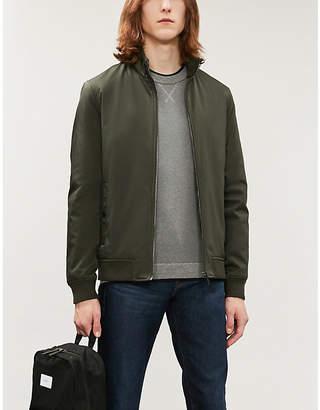 Ted Baker Contrast-sleeves cotton-blend jumper