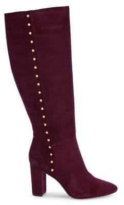 Ralph Lauren Atherton Suede Heeled Boots