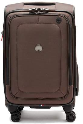 "Delsey 20"" Cruist Lite Soft Carry-On Expandable Spinner Suiter Trolley"