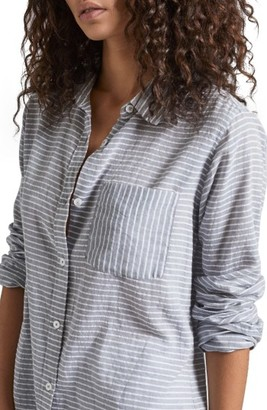 Women's Current/elliott The Boyfriend Shirt $198 thestylecure.com