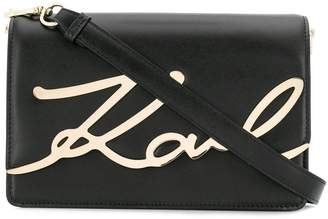 Karl Lagerfeld Paris K/Signature shoulder bag