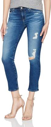 AG Adriano Goldschmied Women's the Prima Mid Rise Crop Jean