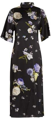 Acne Studios Dilona floral-print satin dress