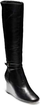 Cole Haan Lauralyn Knee High Wedge Boot