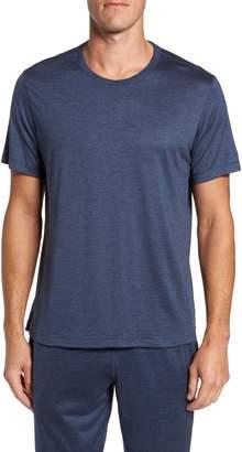Daniel Buchler Silk & Cotton Crewneck T-Shirt