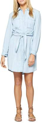 Sanctuary Tali Tie Waist Chambray Shirt Dress - 100% Exclusive