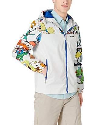 Members Only Men's Nickelodeon Printed Full-Zip Windbreaker Jacket