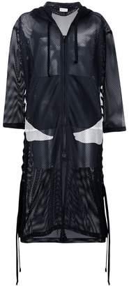 Faith Connexion zipped hooded coat