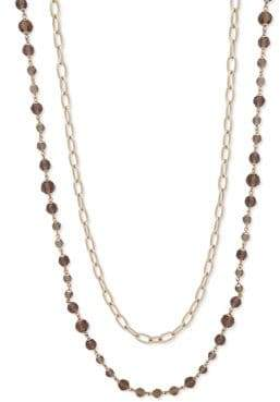 Lauren Ralph Lauren Crystal Chain Necklace