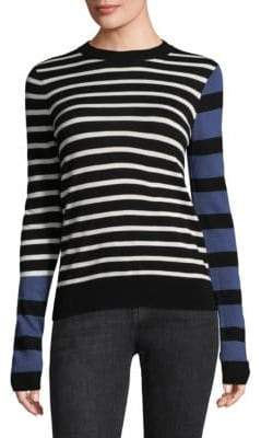 Derek Lam 10 Crosby Multi Stripe Sweater