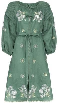 DAY Birger et Mikkelsen Innika Choo hugh jesmok midi smock dress