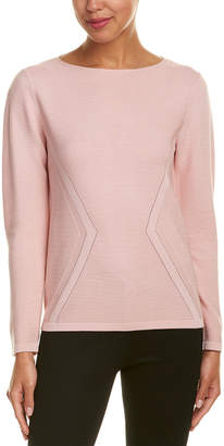 Lafayette 148 New York Silk-Blend Sweater