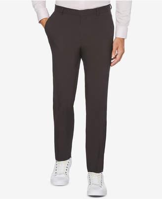 Perry Ellis Portfolio Extra Slim-Fit Solid Water Repellent Men Dress Pants