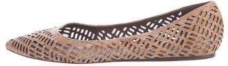 Elizabeth And James Elizabeth and James Lasercut Pointed-Toe Flats