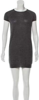 Prada Cap Sleeve Knit Dress