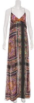 Dries Van Noten Silk Maxi Dress