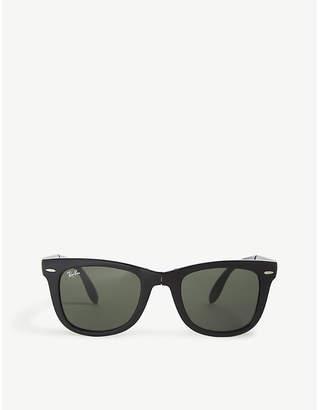 Ray-Ban RB4105 Wayfarer foldable sunglasses