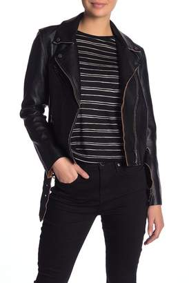 Vigoss Faux Leather Jacket