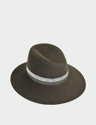 Maison Michel Green Women s Hats - ShopStyle 86abe700565f