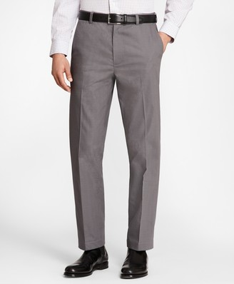 Brooks Brothers Clark Fit Micro-Glen Plaid Stretch Advantage Chinos