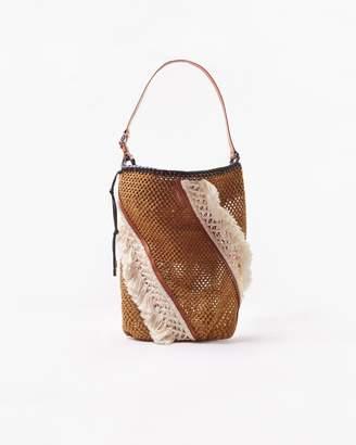 3.1 Phillip Lim Marlee Open-Weave Fringe Bag